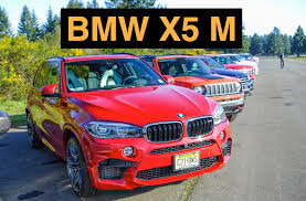 bmw jeep red 2015 bmw x5 m track review u0026 test drive youtube