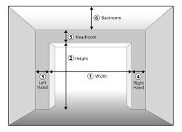 typical garage size how to measure garage door size wageuzi