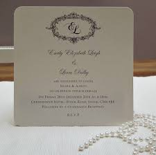 Wedding Invitations Cards Uk Victorian Personalised Wedding Invitations By Beautiful Day
