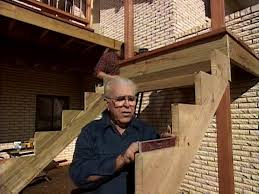 how to plumb a new house how to add stairs to your deck how tos diy