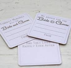 advice cards for and groom advice for the groom coasters x 10 by the wedding of my