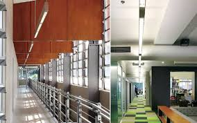suspended linear light fixtures aluminium profile fluorescent lighting suspended office buy