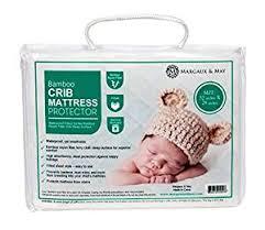 Crib Mattress Liner Ultra Soft Waterproof Crib Mattress Protector Pad