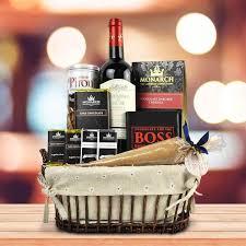 kosher gift baskets custom hanukkah gift basket