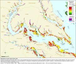 Map Of Lancaster Pa Sea Level Rise Planning Maps Likelihood Of Shore Protection In