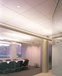 faux plafond en fibre de verre en panneaux adagio certain teed