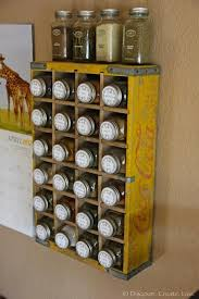 As Seen On Tv Spice Rack Organizer Diy Spice Rack 5 You Can Make Bob Vila