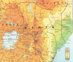 geographical map of kenya kenya s geography climate and biogeography of