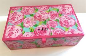 lilly pulitzer jewelry box