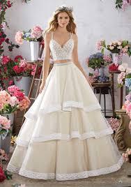 two wedding dress meredith wedding dress style 6859 morilee
