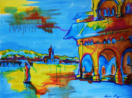 from eastern europe to asia and back colourful scenes by heidi