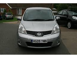 nissan note 2009 interior used nissan note hatchback 1 6 16v tekna 5dr in rochester kent