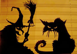 halloween silhouettes for windows google search halloween