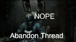 Dead Space Meme - abandon thread dead space know your meme