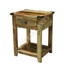 mango wood nightstand