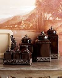 red large ceramic canister set special order 169 60 home