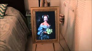 Haunted Ghost Portrait Halloween Prop Youtube