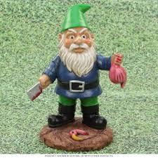 butcher garden gnome lawn statue outdoor decor