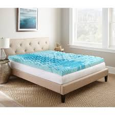 broyhill 4 in queen gel memory foam mattress topper imtopb401qn