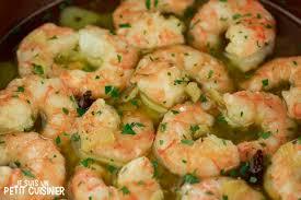 comment cuisiner les crevettes congel馥s recette de crevettes à l ail à l espagnole gambas al ajillo