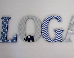 Decorated Letters For Nursery Decorated Letters Etsy