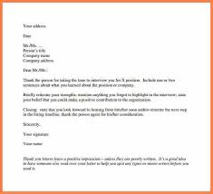 tutorials write thank you letter after an interview professional thank you note