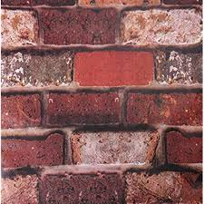 exposed brick exposed brick wall amazon com