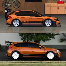 pixel car racer i decided to make my car crosstrek irl wrx in pcr pixelcarracer