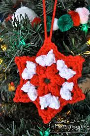 crochet ornament free pattern my merry