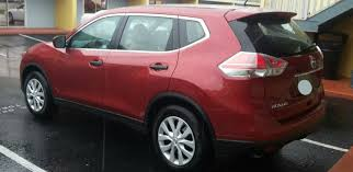 red nissan rogue file u002716 nissan rogue rear jpg wikimedia commons