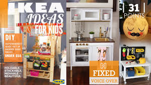 Ikea Play Kitchen Hack by 31 Ikea Ideas For Kid U0027s Room New V O Youtube