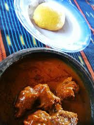 cuisine sauce ivoirienne file cuisine ivoirienne foutou sauce graine jpg wikimedia commons