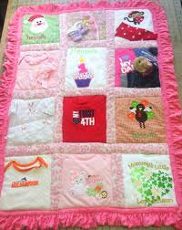memory clothes quilt ideas using baby clothes new memory quilt ideas