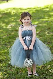 tea length ball gown cute fluffy layered tulle princess flower