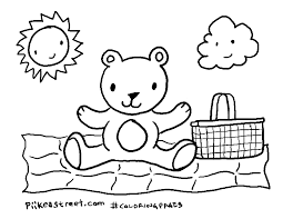 teddy bear picnic colouring pages domain hongboxin gekimoe u2022 26197