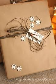 rustic christmas wrapping paper brown paper packages up with string ribbon and cinnamon