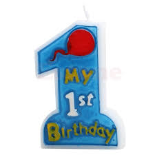 1st birthday candle new kids one anniversary candle my 1st birthday toothpick