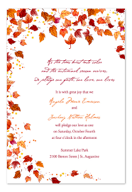 cheap fall wedding invitations 28 images of autumn invitation template crazybiker net