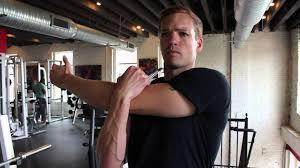 shoulder stretch one arm across chest shoulder exercises for