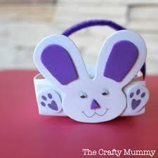 rabbit easter basket bunny basket the crafty mummy