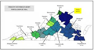 Map Of Charlottesville Va U Va Study One In Nine Virginians Is Foreign Born Uva Today