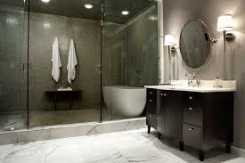Modern Contemporary Bathrooms Modern Craftsman Master Bathroom Contemporary Bathroom