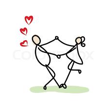 hand drawing cartoon love stock vector colourbox