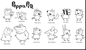 peppa pig valentines coloring pages peppa pig coloring book l pages for children learning page decor 11