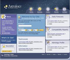 reporting website templates astrology website template 9046