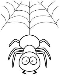 Spider Color Pages Coloring Pages 1 by Spider Color Pages