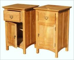 jeff segal london cabinetmaker pair of bedside cabinets in solid