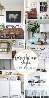 fixer upper farmhouse look ideas for your home tidymom