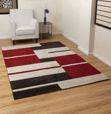 Modern Rugs Uk by Aspect 160 X 230 Cm Polypropylene Cubism Modern Thick Rug With
