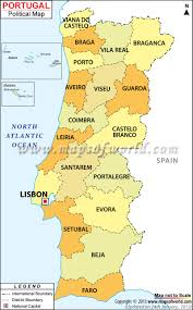 Blank Map Of Counties Of Ireland by Political Map Of Portugal Portugal Districts Map